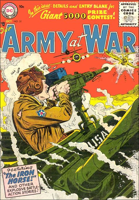 Our Army at War (1952) comic books
