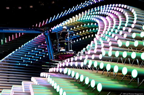 Eurovision 2015 stage: Hanging cameras, kinetic sculpture