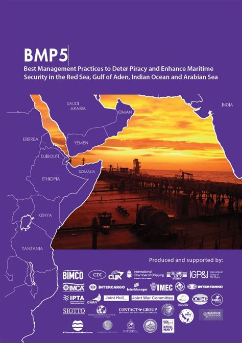 Maritime Industry releases BMP5 and Global Counter Piracy