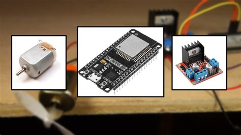 ESP32 with DC Motor - Control Speed and Direction | Random