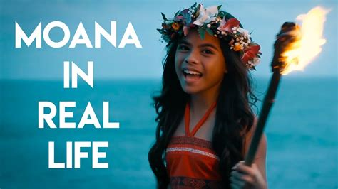 "Moana in Real Life - ""How Far I'll Go"" - YouTube"