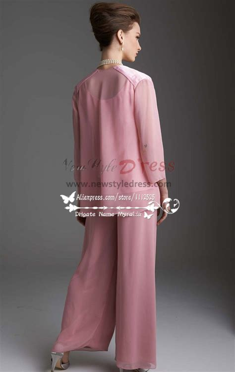 Regency chiffon women's outfits Lovely with jacket trouser
