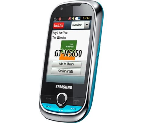Samsung Corby M5650 3G Mobile Phone Price India - Buy