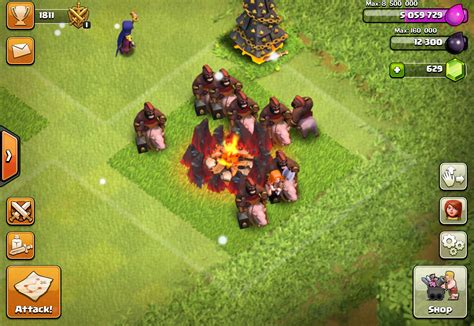 Clash of Clans Hog Rider - Tips, Levels & Stats