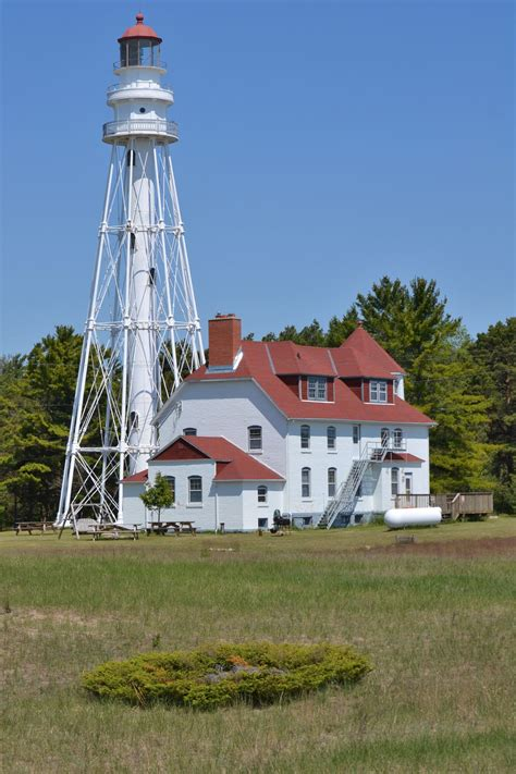 File:Rawley Point Lighthouse; Point Beach State Forest