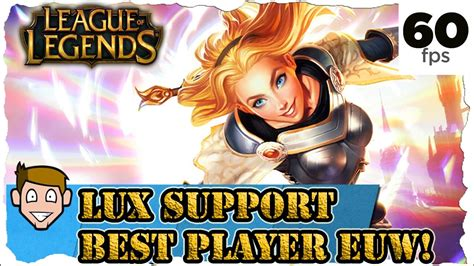 Lux Support League of Legends [LoL] Gameplay German
