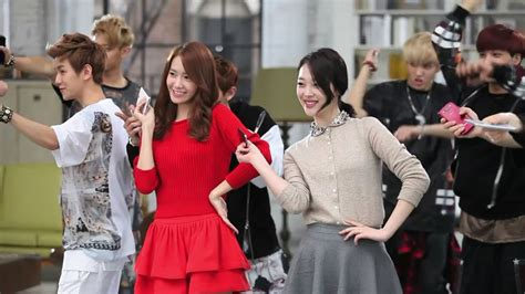 [HD] SNSD Yoona with f(x) Sulli and EXO - SK Telecom CF