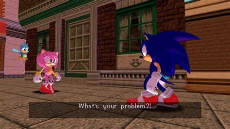 Amy Without A Dress [Sonic Adventure DX (2004)] [Skin Mods]