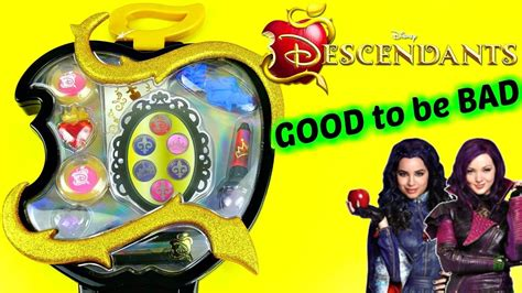 Disney DESCENDANTS Good To Be Bad NEW MAKEUP Case with MAL