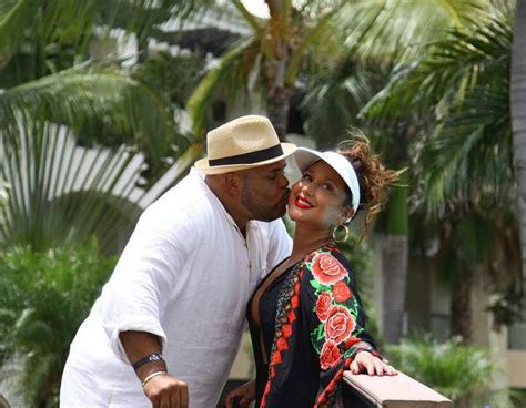 Adrienne Bailon & Israel Houghton from Celebrities on 2017