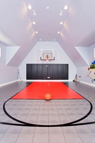 Jazz Up Your Home: Stylish Basketball Courts   Utah Home