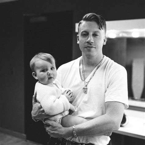 Singer Macklemore Got His Daughter's Name Tattooed on His