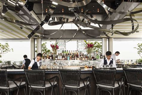 Spago – restaurant and terrace lounge – rooftop at Marina